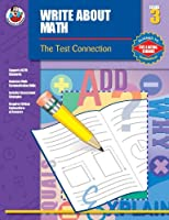 Write About Math, Grade 3 (The Test Connection)