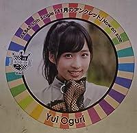 AKB48カフェ AKB48 11月のアンクレット コラボコースター 小栗有以 AKB48 全28種ランダム配布