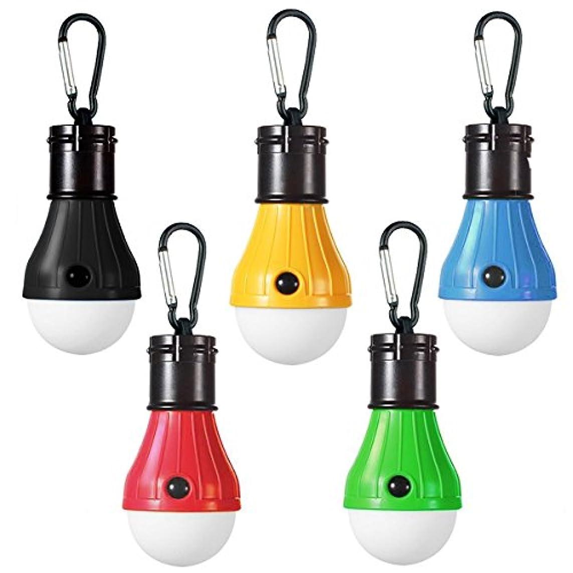 スカウトペイントおとなしいLEDランタン アウトドア用 吊り 3 LED 屋外 キャンプ テント ライト 電球 釣り ランタン ポータブル 懐中電灯 釣り提灯