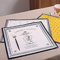 棉麻製 北欧風 ランチョンマット ナプキンマット テーブルの背景布 家庭用 デスクトップ プレースマット 布製 食卓マットインテリア Ammbous