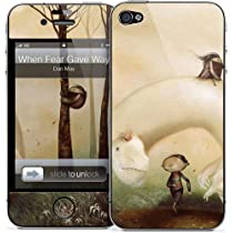 GELASKINS Apple iPhone4S/4 スキンシール 【When Fear Gave Way To Frolic】4GP-212