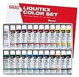 リキテックス アクリル絵具 リキテックスカラー レギュラータイプ 24色セット 伝統色 20ml(6号)