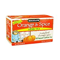 Bigelowオレンジand Spice Herb Tea ( 6x 20バッグ