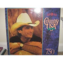 COUNTRY USA PUZZLE-CLINT BLACK
