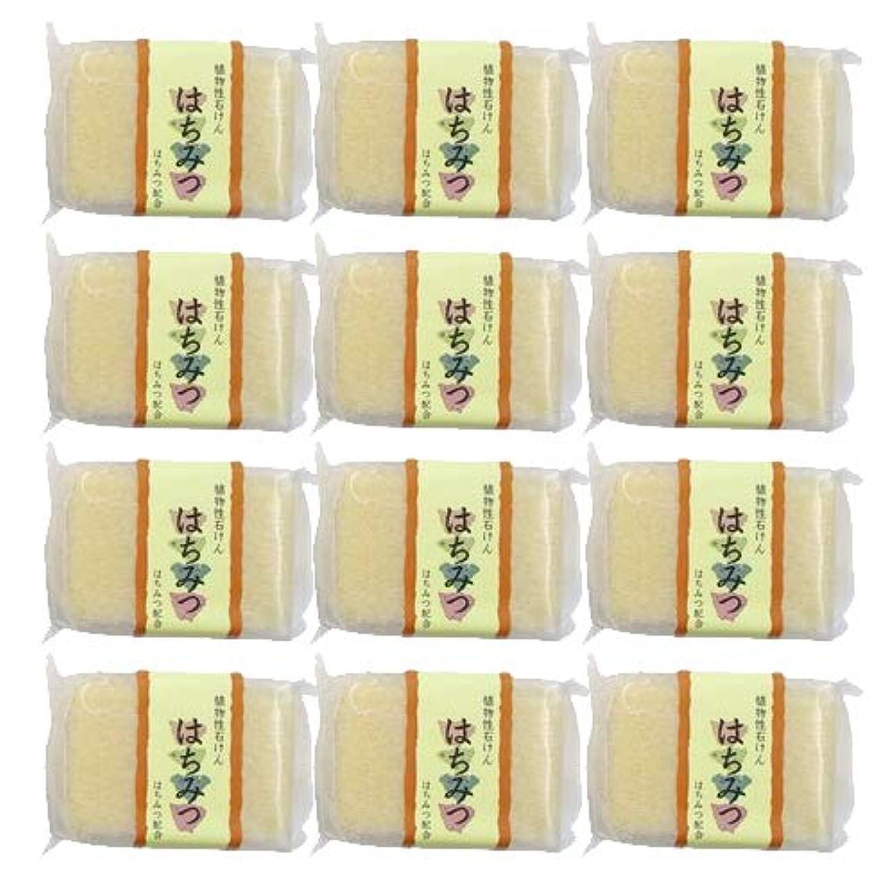 万一に備えてシーフード製作植物性ソープ 自然石けん はちみつ 80g ×12個