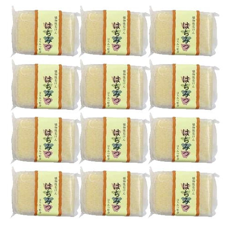 報いる錫心理的に植物性ソープ 自然石けん はちみつ 80g ×12個