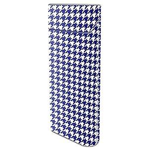 プルームテック シール 千鳥格子 全面対応 日本製 ブルー