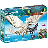 Playmobil - How to Train Your Dragon: Light Fury with Baby Dragon andChildren (DreamWorks)