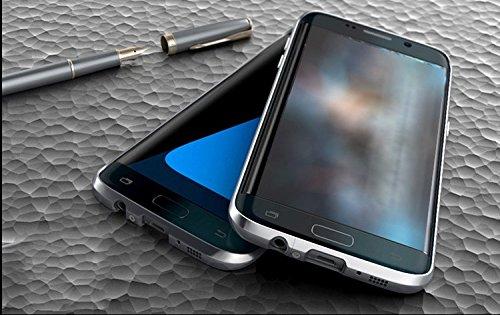 【M&Y】Galaxy S7 edge バンパー ギャラクシーS7 エッジ カバー ギャラクシーS7エッジ アルミバンパー フレーム Galaxy S7 edge アルミバンパー ケース ハイセンスな作り かっこいい ギャラクシーS7 エッジ バンパーカバー 「全9色」MY-S7EG-GC-60513 (シルバー)