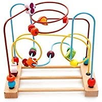 Kaylee & Ryan Circle Bead Maze Wooden Toys for Kids [並行輸入品]