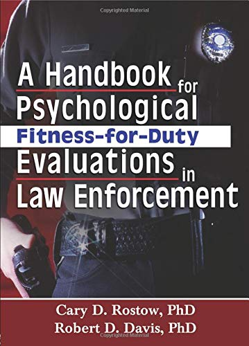 Download A Handbook for Psychological Fitness-for-Duty Evaluations in Law Enforcement 0789023970