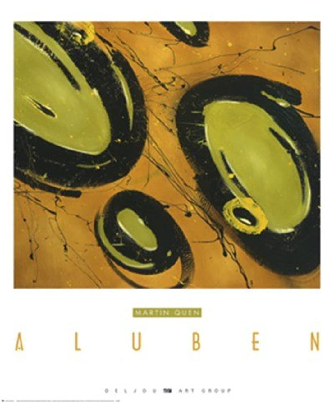 ガジュマル表面好奇心Aluben by Martin Quen – 38 x 45インチ – アートプリントポスター