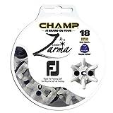 CHAMP(チャンプ) Zarma(ザーマ) FootJoy フットジョイ 交換用 ザーマ スパイク鋲 Tri-Lok(トライロック) 18個入  107019413