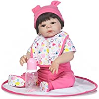SanyDoll Rebornベビー人形ソフトSilicone 22インチ55 cm磁気Lovely Lifelike Cute Lovely Baby b0763kpf1s