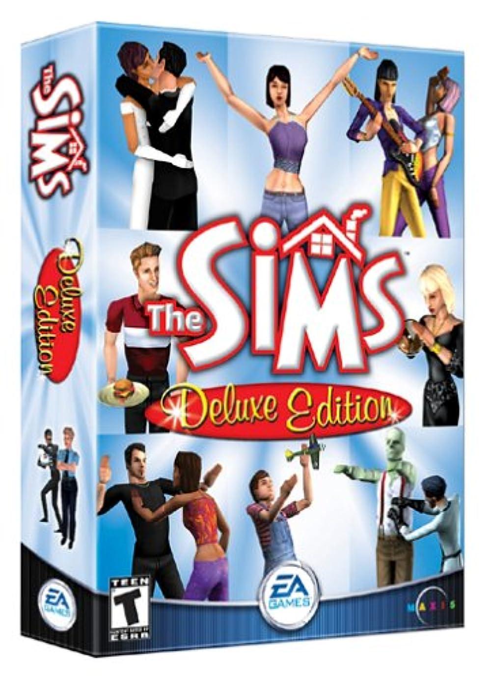 ウェイター下に向けます黙The Sims Deluxe Edition (輸入版)