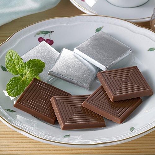 糖質オフチョコレート キャレ48枚入(低糖工房)糖質制限やダイエットにおすすめ! (糖質84% オフ ミルクチョコレート キャレ48枚)