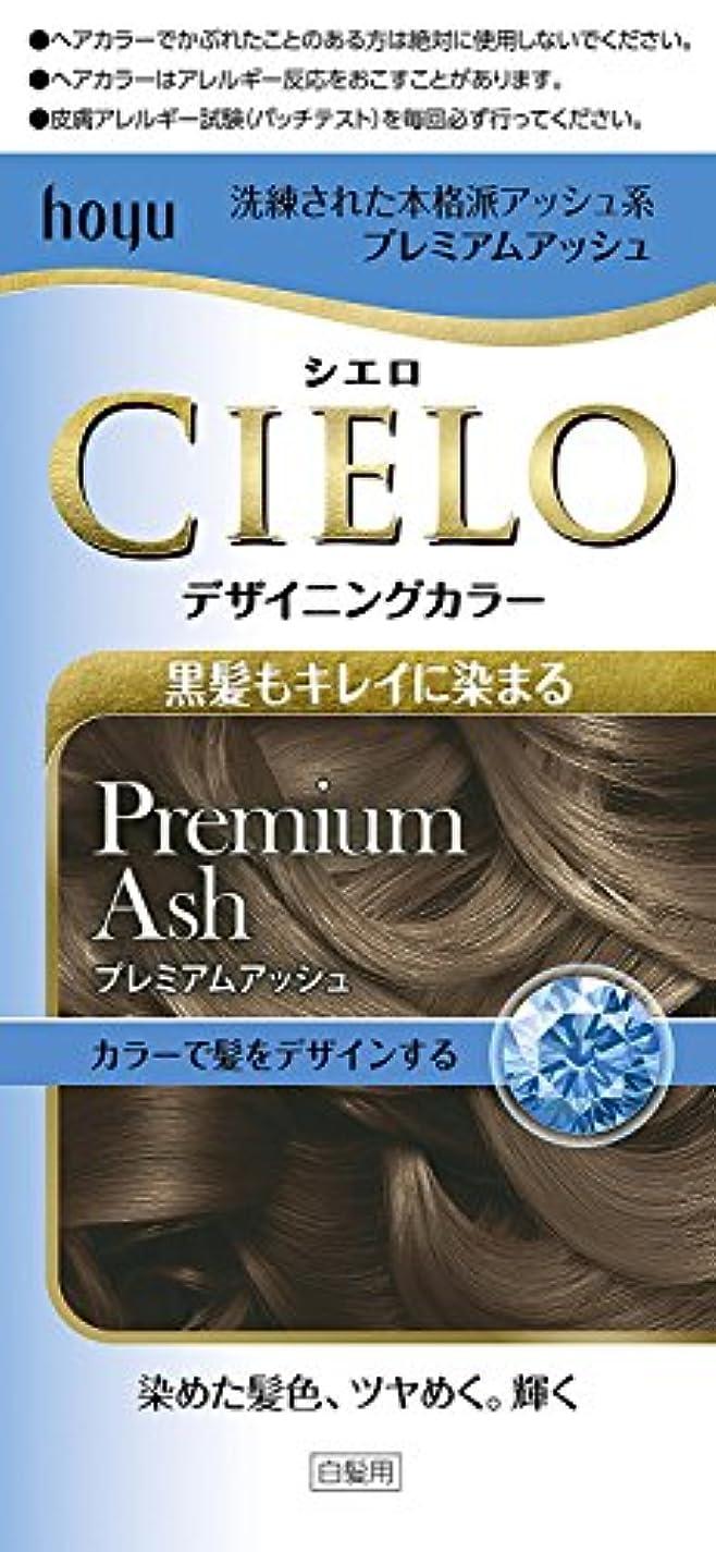 褐色群集キリストホーユー シエロ デザイニングカラー (プレミアムアッシュ)×6個