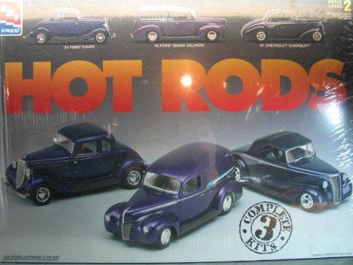 1/25scale AMT HOT RODS プラモデル 3台セット ホットロッド