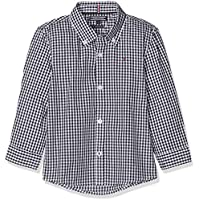 Tommy Hilfiger Boys' Gingham Long Sleeve Shirt