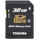 TOSHIBA SDHCカード 32GB Class4 日本製 (国内正規品) SD-L032G4