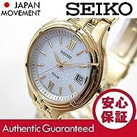 【デッドストック/アウトレット品】SEIKO (セイコー) SUT018 SOLAR/ソーラー ゴールド レディースウォッチ 腕時計[並行輸入品]