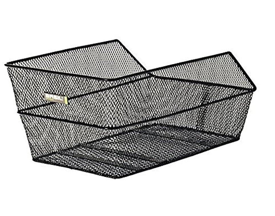 汚い広大なスケジュールBASIL(バジル)カゴ セント 39X24X20 ブラック 014251