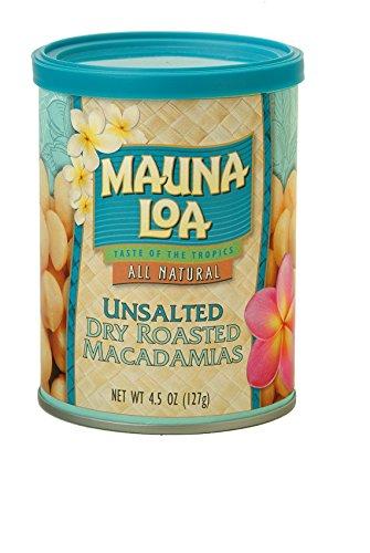 ハワイアンホースト マウナロア 無塩マカデミアナッツ缶 127g