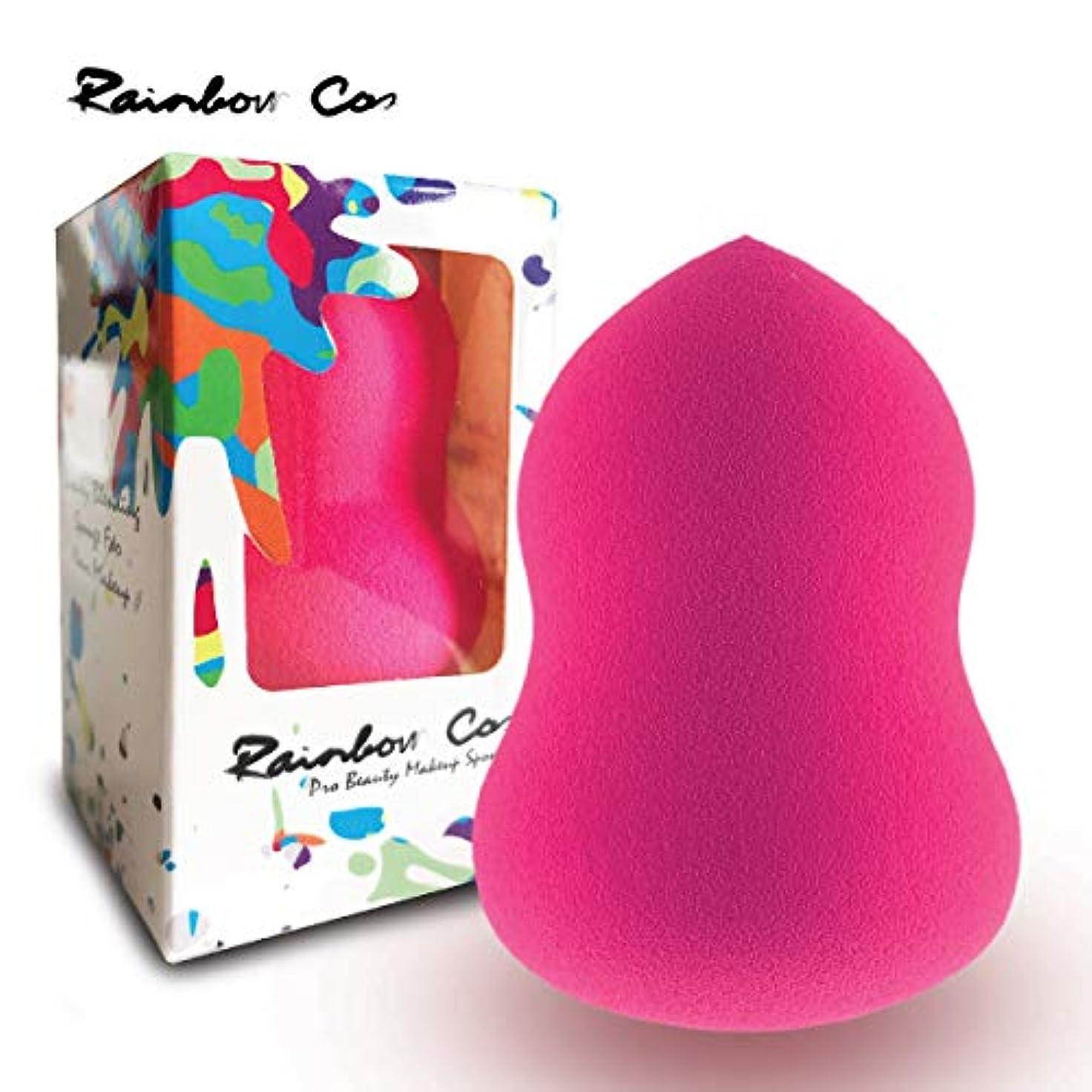 尽きる上回る最近Rainbow Cos Premium Pear Shape Makeup Sponge Beauty Foundation Sponge Blender for Applicator, Foundation and Highlight...