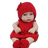 Lovelbaby ソフト キュート 可愛い  レッド  セーター ニット ビニルシリコーンで  手作り  リアル赤初生赤ちゃん  人形