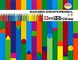 サクラクレパス クーピーペンシル60色(缶入り) FY60 00007444 【まとめ買い3個セット】