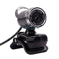Simplyシルバー–新しい360° HD USB 2.012.0MP Webカメラを内蔵マイクfor PCデスクトップ米国