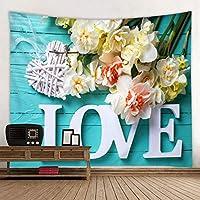 タペストリー、壁掛けタペストリー花ハング壁アート装飾壁毛布、寝室リビングルーム寮の装飾タペストリー、150 * 130センチ,200*150CM