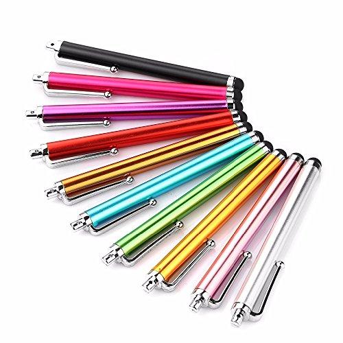 ノーブランド タッチペン スマートフォンタッチペン タブレット スタイラスペン 10本セット ランダ...