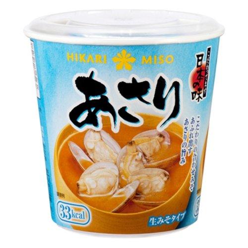 ひかり味噌 カップみそ汁 あさり 1食×6個