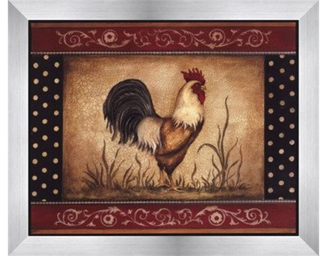 債権者性能騒cock-a-doodle-doo – Mini by Kimberly Poloson – 10 x 8インチ – アートプリントポスター LE_463470-F9935-10x8