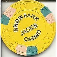 $ 5 Snowbankジャックのカジノチップイエロー