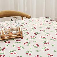 Super Kh® 牧歌的なスタイルのテーブルクロスPVC防水絶縁温度クリーニング不要拭き食卓 (色 : 3#, サイズ さいず : 140*180cm)