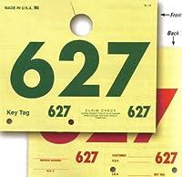 rl-78オートサービス3桁ミラーディスパッチタグ( 1000/セット)