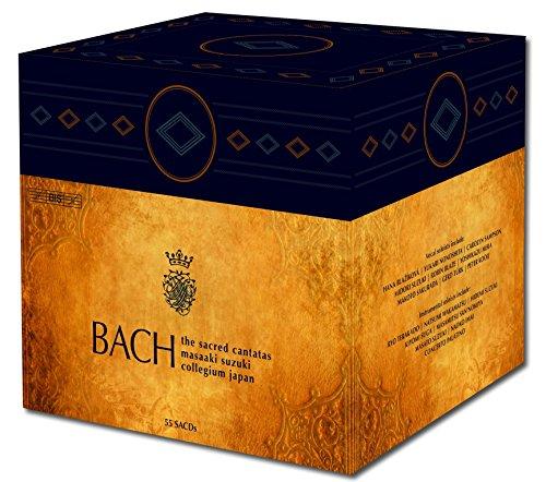 J.S.バッハ : 教会カンタータ全集 (Bach : The Sacred Cantatas / Masaaki Suzuki | Bach Collegium Japan) [Hybrid SACD] [55 Discs] [Box Set] [輸入盤]