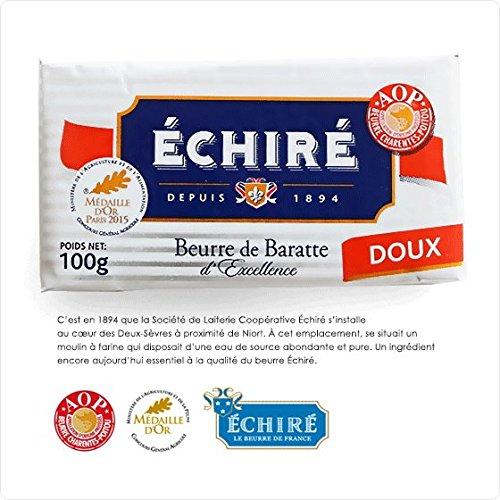 【エシレ バター 】 【無塩】フランスAOP伝統エシレバターまとめ買い! Echire AOP Charentes Poitou DOUX (5個セット)