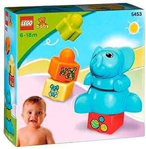レゴ (LEGO) エクスプロア ベビー ぞうさんとブロックあそび 5453