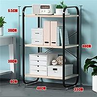 オールメタルシェルフユニット|頑丈なストレージ組織ラック本棚|リビングルームに適したキッチン/バスルーム/ホームに適したスタンディングキューブシェルフ