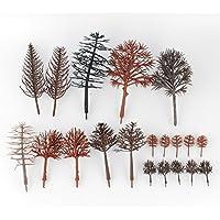 nwfashion Bareプラスチックツリートランクforモデル列車鉄道建物風景 20pcs tree NWFashion