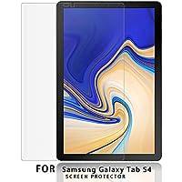 NUPO Samsung Galaxy Tab S4 10.5 SM-T830 (Wi-Fi)/SM-T835 (LTE) ガラスフィルム 2.5D 硬度9H 飛散防止 指紋防止 高感度タッチ 極高透過率 旭硝子製 耐衝撃 Galaxy Tab S4 10.5 強化ガラス液晶保護フィルム (1枚入)