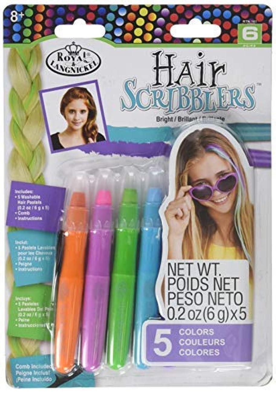 静脈立法光沢Royal RTN-161 Hair Scribblers 1 Comb 5pc [並行輸入品]