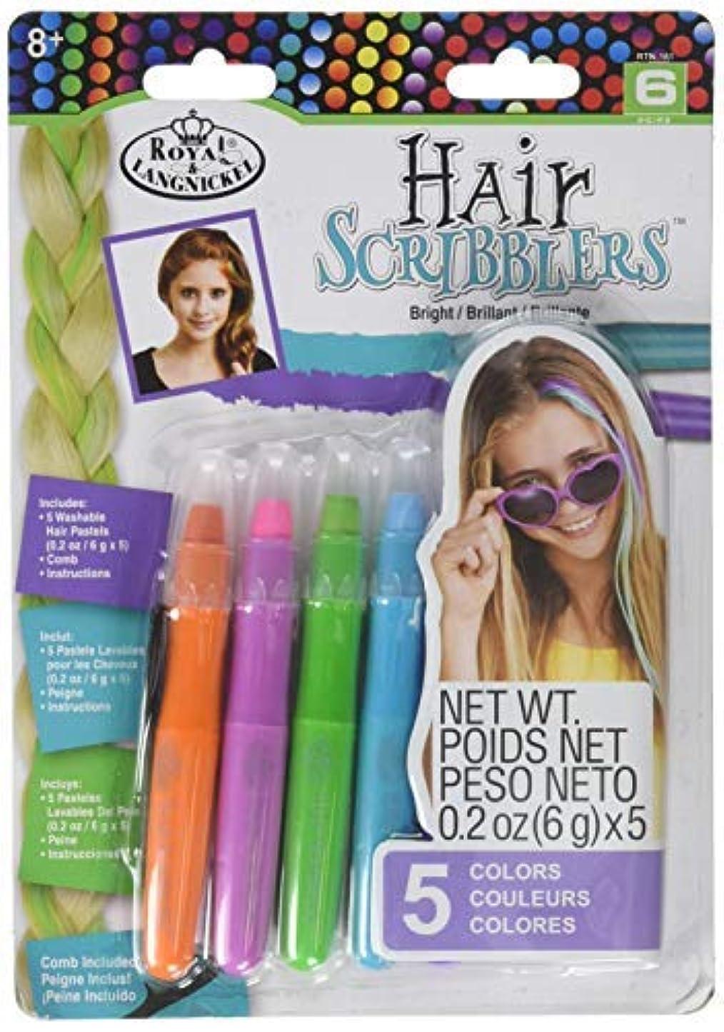 鉄エンジン役に立たないRoyal RTN-161 Hair Scribblers 1 Comb 5pc [並行輸入品]