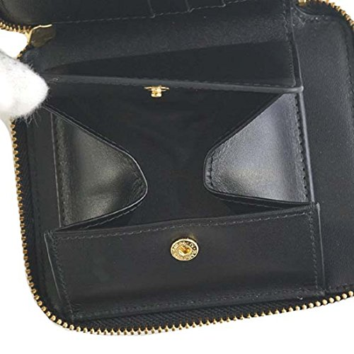 a11e29359f99 (コムデギャルソン)COMME des GARCONS 財布二つ折り財布SA210EA EMBOSS ブラック[並行輸入品]