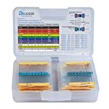 ELEGOO 17値1%抵抗器、0オーム〜1Mオーム(525本)