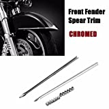 Front Fender Spear Trim For Harley Heritage Softail Classic FLSTC 89-17 steel