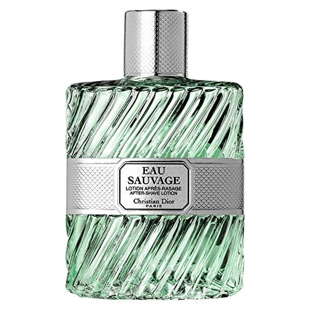 補うバリアとげのある[Dior] ローションスプレー100Mlとしてディオールオーソバージュ - Dior Eau Sauvage AS Lotion Spray 100ml [並行輸入品]